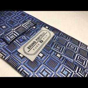 Bruno Piattelli neck tie - silk - Brand new